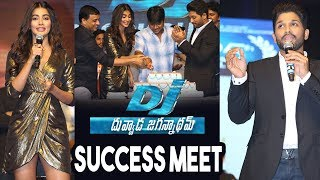 DJ Duvvada Jagannadham Movie Thank You Meet