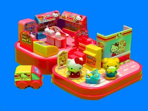 Hello Kitty Convenience Store Playset - itsplaytime612