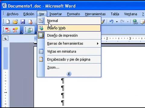 Tutorial Word 2003 para hacer Tesis, Parte 1
