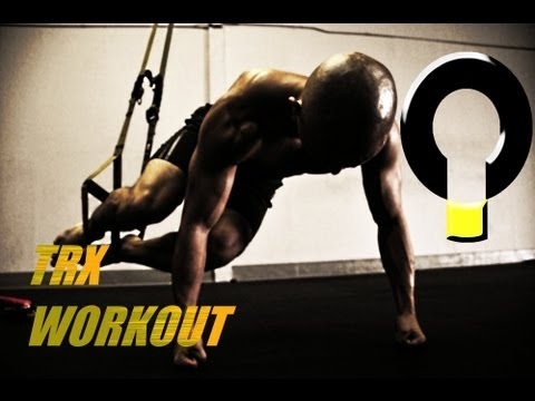 Advanced TRX core training workout routine