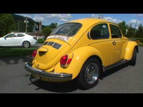Classic 1972 VW Volkswagen Super Beetle Bug Sedan Type 1 Full Resto on Auction - YouTube