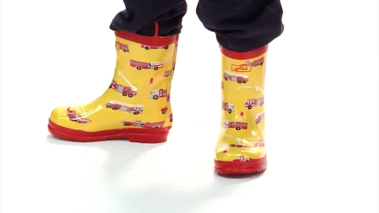 Hatley Monster Truck Rain Boots Trucks Kids' Rain Boots