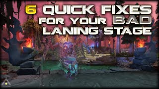Dota 2: 6 Quick Fixes to Your BAD Laning Stage | Pro Dota 2 Guides
