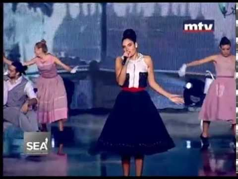 Cynthia Brown French Medley, Mtv Lebanon, Entertainment Part II SEA 2014