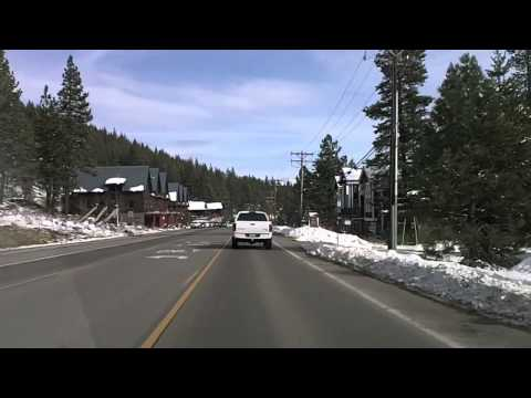 Driving around in Truckee, CA