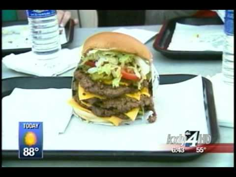 Fatburger's Xxxl Challenge On Gmnw video