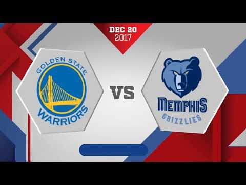 Memphis Grizzlies vs. Golden State Warriors - December 20, 2017