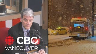 TransLink CEO talks about how transit deals with weather