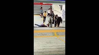 Tki taiwan jatuh dari tangga stasiun ciayi