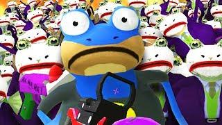 Download Lagu BAT FROG vs JOKE FROG ARMY! - Amazing Frog - Part 135 | Pungence Gratis STAFABAND