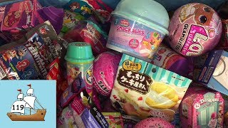 Blind Bag Ship 119 LOL Surprise Pets Gudetama Re-ment MLP Cutie Mark Crew Surprise Toys Opening