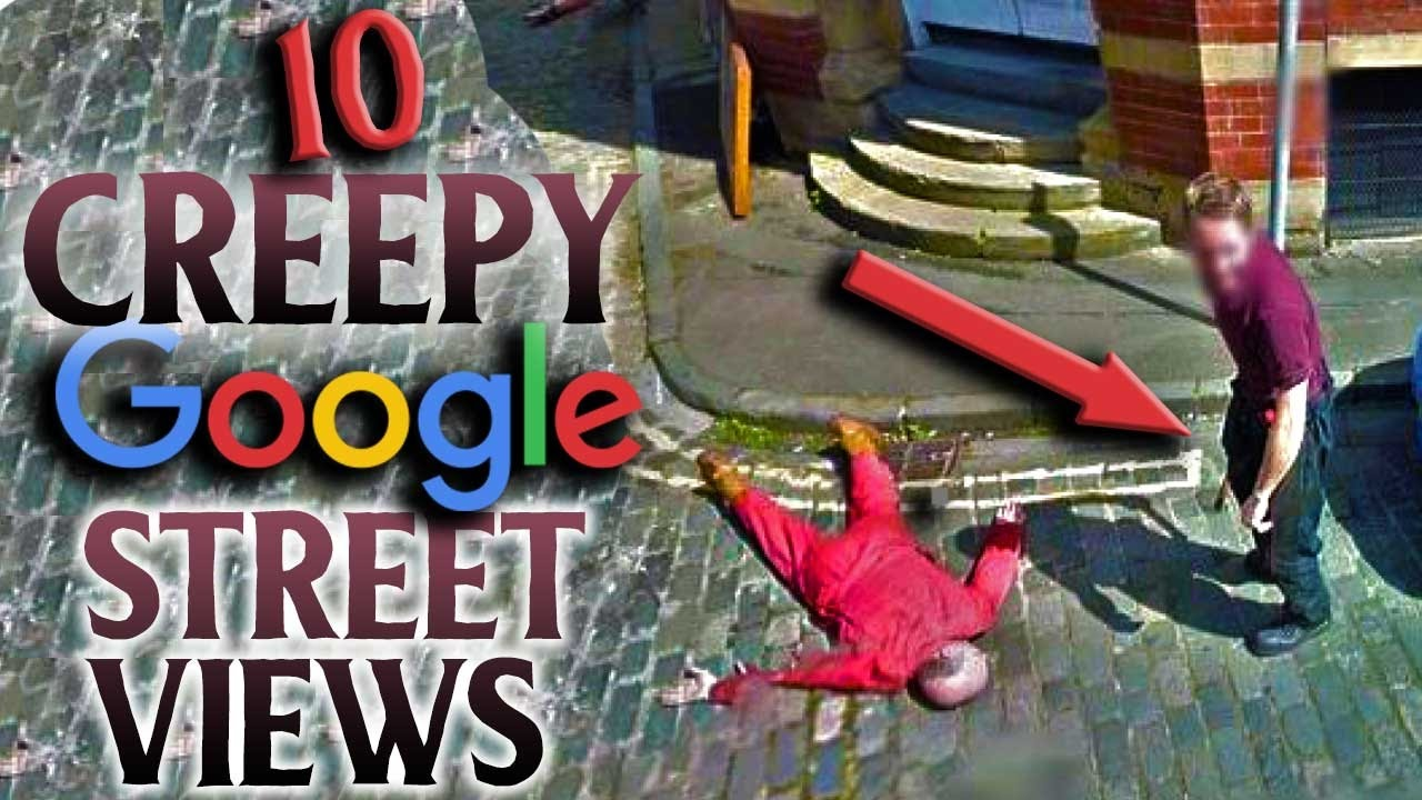 Top 10 Creepiest Images Ever Found On Google Maps Youtube