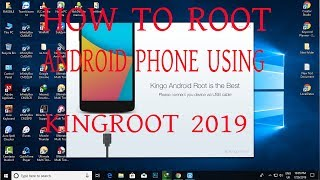 How To ROOT android phone using kingroot SAMSUNG J1
