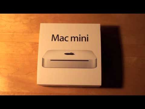 Apple Mac mini unibody (June 2010): Unboxing & Startup