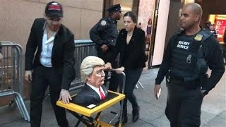 Trump Cake Leaves The Tower