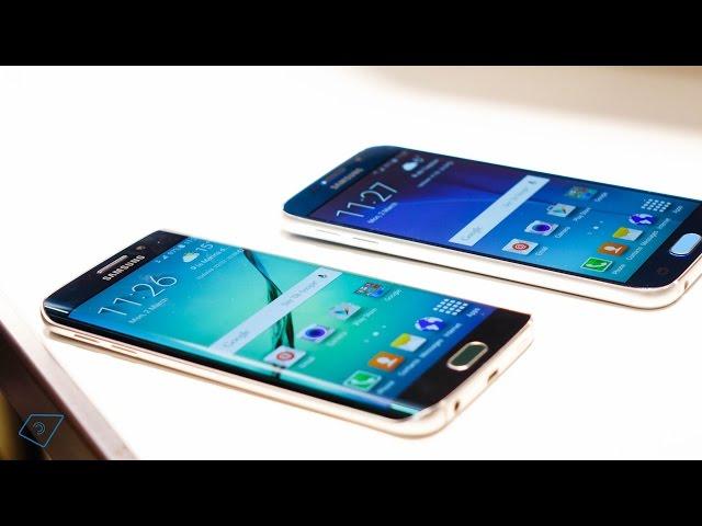 ▶ Samsung Galaxy S6 vs. Galaxy S6 Edge - Vergleich (Deutsch)