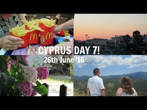 CYPRUS DAY 7: Troodos Mountains & The Biggest McDonald's! // Velvet Hearts ♡