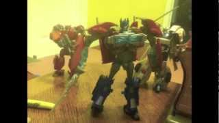 Transformers Prime Stop motion The Prime