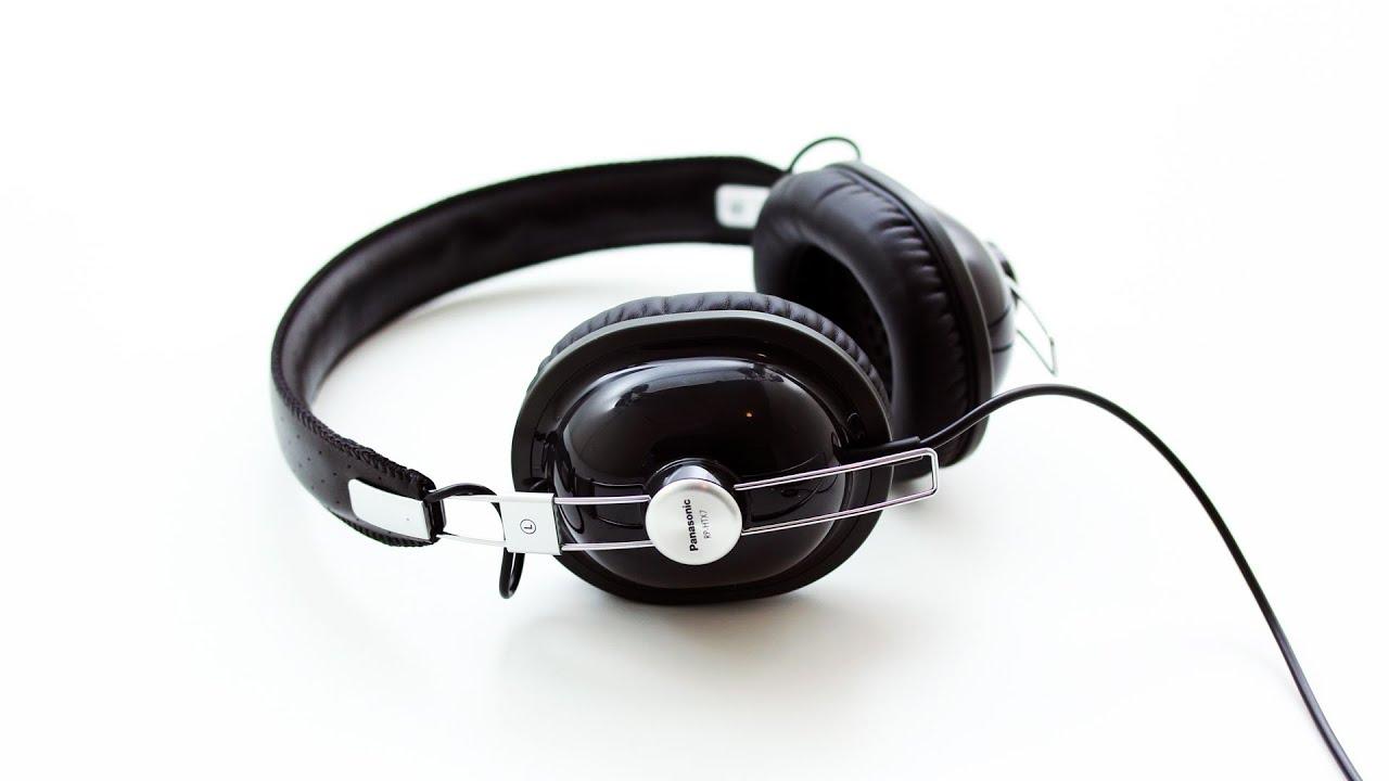 Panasonic RP-HTX7 Headphones Unboxing - YouTube