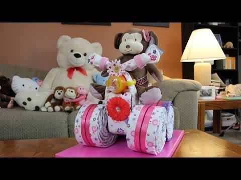 Diaper Cake Quad Runner For Girls video