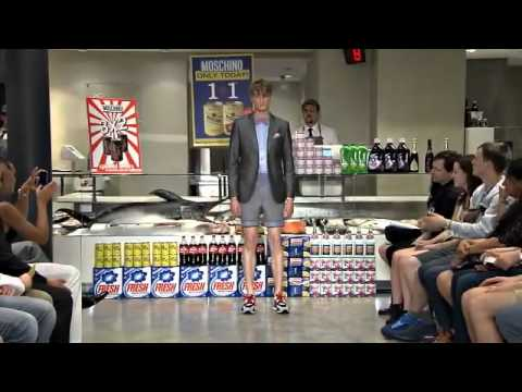 Moschino Menswear Spring Summer 2013 Full Fashion Show