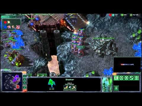 HD Starcraft 2 oGs.SuperStar v HuHuman
