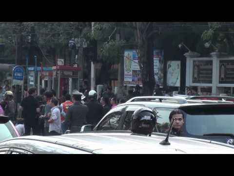 Three Bomb Blasts in Bangkok, Thailand February 14, 2012