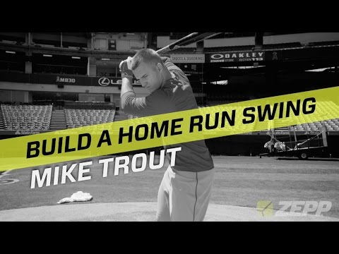 Mike Trout Analyzes His Home Run Swing With Zepp Labs