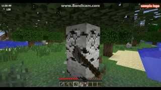 Minecraft выживание с модом таункрафт