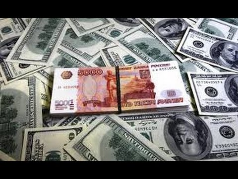 The collapse of the Russian ruble