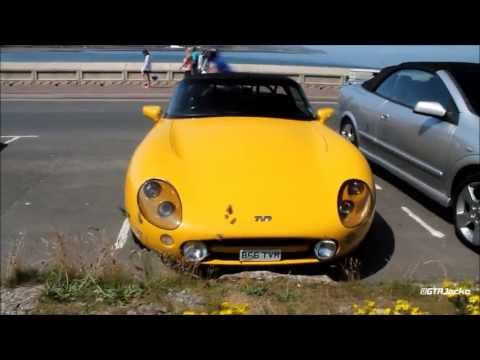 Yellow TVR Griffith 500 in Scarborough - Walkaround!