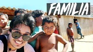 CONHECI FINALMENTE MINHA FAMILIA!