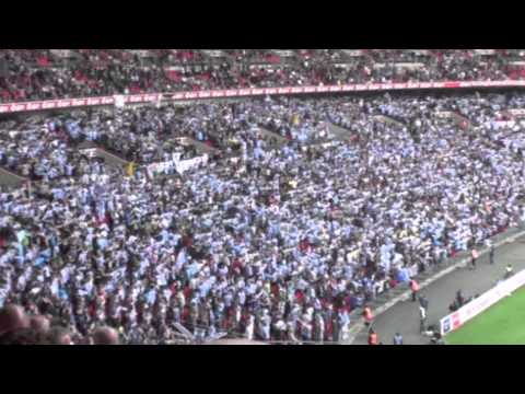 Man city do the Poznan at Wembley