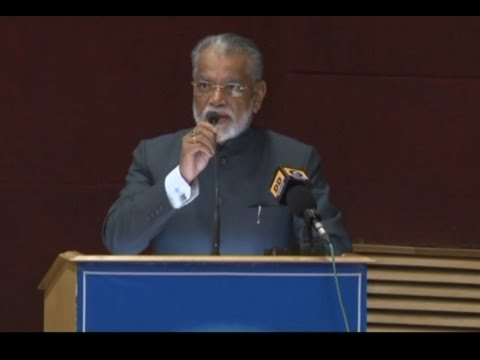 Dr K Radhakrishnan on 'Contribution of India's Space Programme in Nation Building'