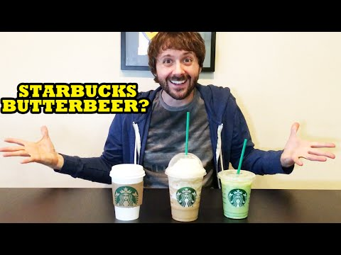 STARBUCKS BUTTERBEER? SMOKED BUTTERSCOTCH LATTE REVIEW