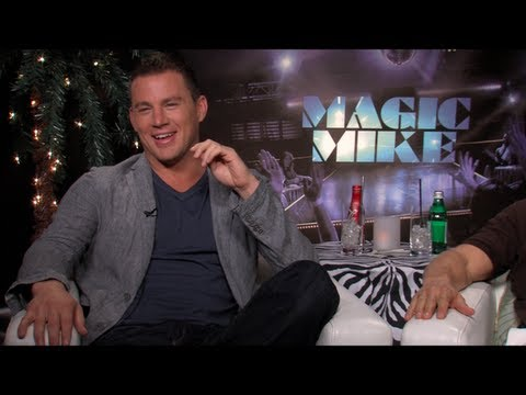 MAGIC MIKE Interviews: Channing Tatum, McConaughey, Pettyfer, Manganiello, Bomer and Horn