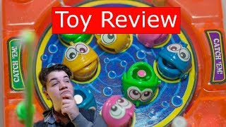 Toy Review: Pocket Travel Wind-Up Fishing Game