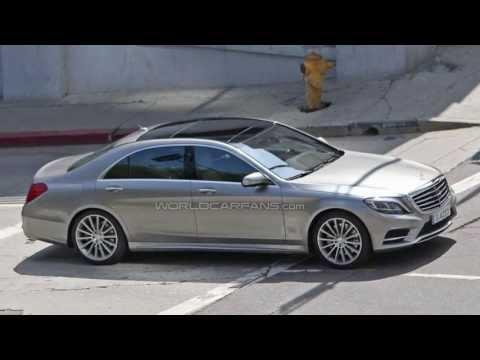 Mercedes S-класса 2013 - первые реальные изображения...