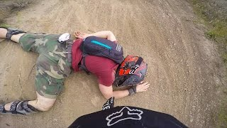 I BROKE MY WRIST :( Kamloops Bike Ranch | Jordan Boostmaster