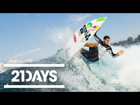 De Souza vs Young - 21 Days - Red Bull Surfing - Part (2/3)