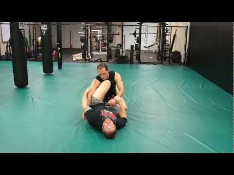 Jiu-Jitsu Ground and Pound Defense Sweep - Self Defense Techiques & Street Fighting Tips Image 1
