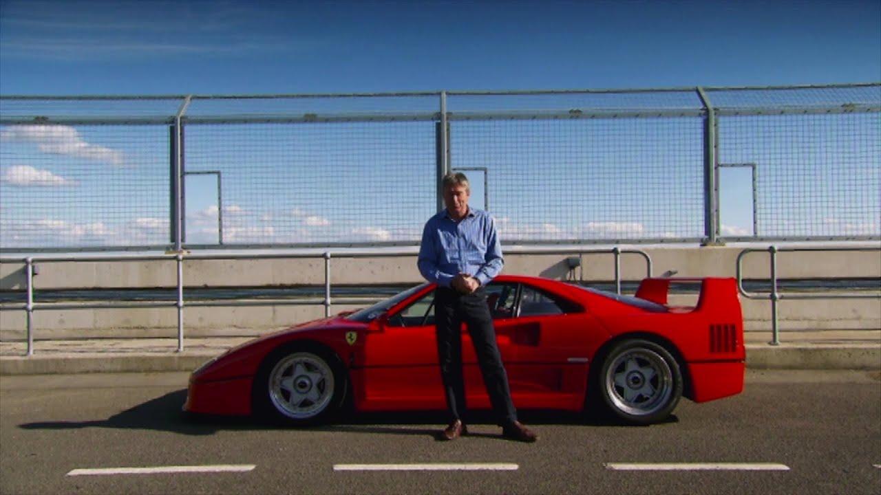 SUPERCAR: FERRARI F40 - Fifth Gear - YouTube
