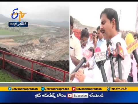 Minister Devineni Uma Reviews Polavaram Project works