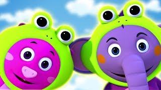 Nursery Rhymes And Baby Songs | Five Little Speckled Frogs & More Kids Songs by All Babies Channel