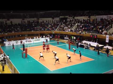 VIII Copa Panamericana de voleibol - Juan de la Barrera - México vs U.S.A