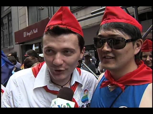 Посмотреть ролик - Cмотреть онлайн Гей-парад в Нью-Йорке 1080p путин на про