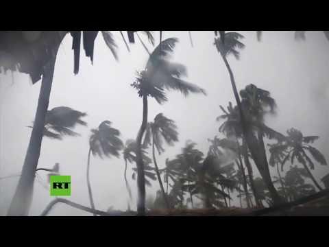 María llega a República Dominicana y azota sus paradisíacas playas