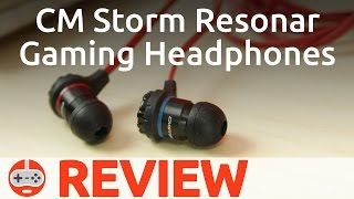 CM Storm Resonar Review, In-Ear Gaming Headset - Gaming Till Disconnected