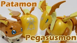 Digimon Figure-Transformation Toy(JP)-Patamon(パタモン) to Pegasusmon(ペガスモン)(/Pegasmon)