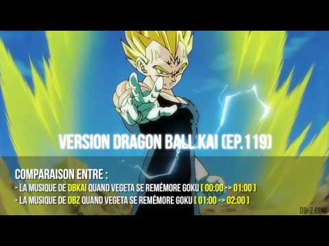 [ost] Dragon Ball Kai #119 Vs Dragon Ball Z #235 video